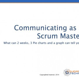 Communicating in Agile - Webinar