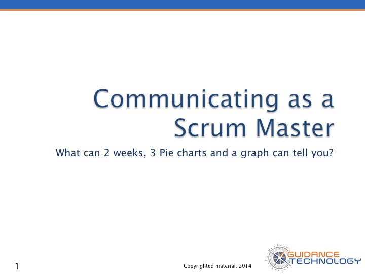 Communicating as a Scrum Master